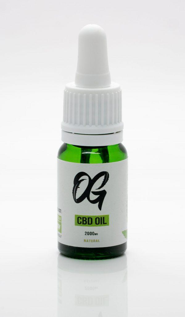 2000mg Only Green CBD Oil Bottle