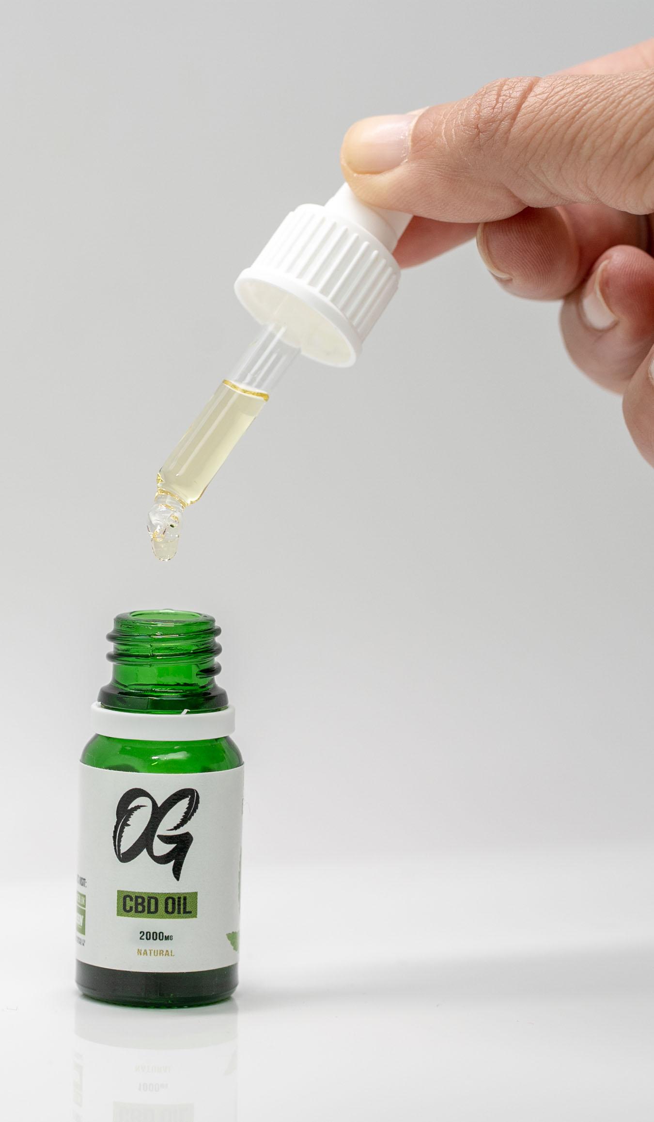 CBD Oil With Pipette Dropper