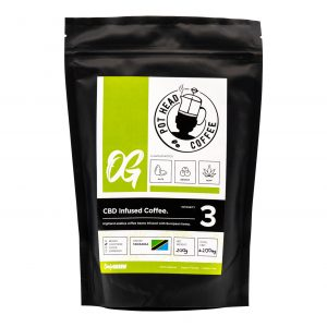 Only Green 200g CBD Coffee Product
