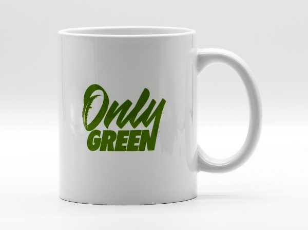 Only Green CBD Coffee Mug