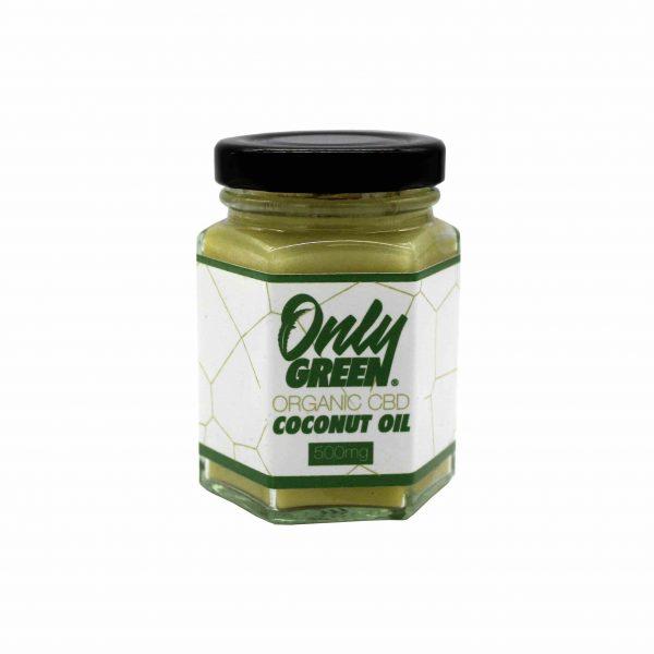Only Green Organic 500mg CBD Coconut Oil