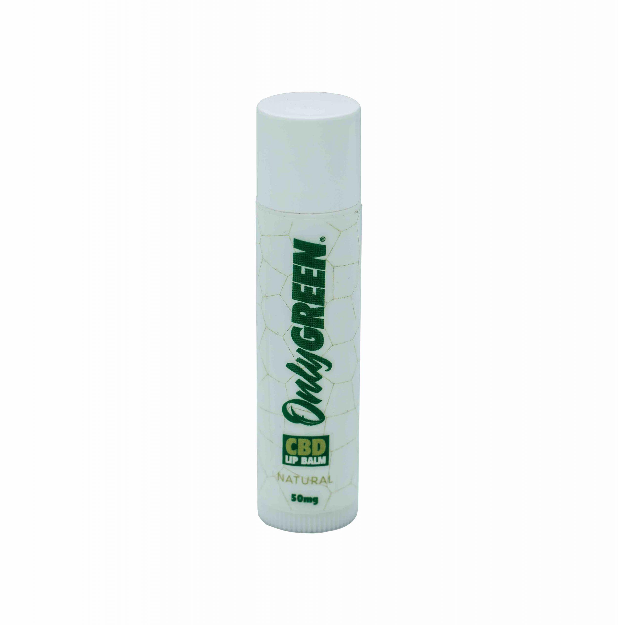 Tube of Only Green CBD Lip Balm
