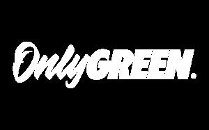 White Only Green CBD brand logo