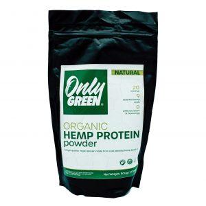 Only Green Organic Hemp and CBD Protein Powder